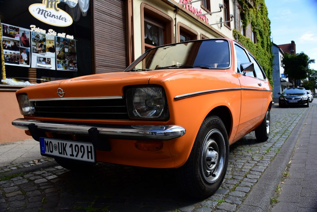 Opel Kadett City vorne links